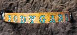 Vollleder Hundehalsband, Bodyguard, mit Click-Verschluss (HH27)