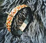 Hundehalsband mit 2-farbiger Flechtung (HH24)