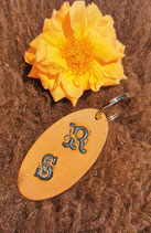 Schlüsselanhänger mit 2 Initialen