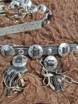 Bootstraps /Stiefelband mit Lederfransen (BS1)