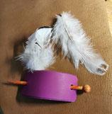 Haarschmuck, Haarspange in der Farbe Fuchsia (HS9)