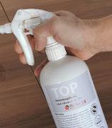 TREOX-D TOP Flächen-Desinfektion in der handlichen Sprühflasche