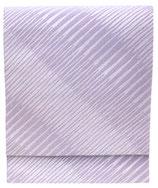 OB-107    紋織名古屋帯 (雨筋・紫)