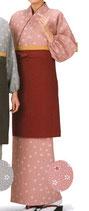 TY-6019 茶羽織 スカートタイプ 桜色