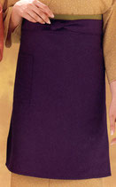 EP-8513  ロングエプロン  紫