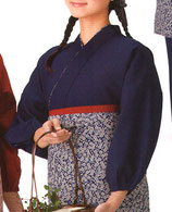 TJ-6505     茶羽織   上着    (紺)