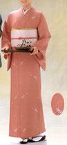 KI-1048    単衣着物 (瓢箪桜・桃)