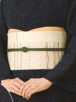 OG-110    帯締め (抹茶色)