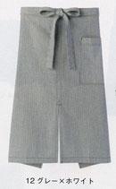 FK7062  ヒッコリーストライプエプロン