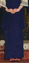 SK-9505  和風スカート  紺