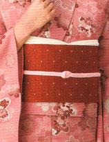 OG-113    帯締め (薄ピンク色)