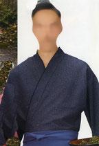 SJ-4046    作務衣・上着 (雪霞・紺)
