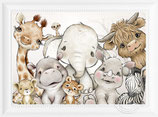 Safari Tiere Boho (70)