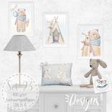 Babyzimmer Bilder und Geschenk Karte