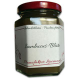 Sambucus-Blüte