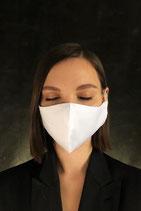 Индивидуальная многоразовая тканевая двухслойная лицевая маска.