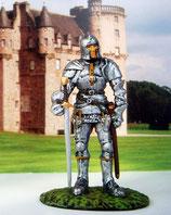 Nr. 29. UOMO D'ARME FRANCESE - XV SEC  Handbemalt Sammlerfigur Ritter in Ritterrüstung