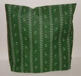"""Hochwertiges Baumwollkissen 30x30 cm gefüllt mit frischen Zirbenspänen im Innenvlieskissen """" Landhaus dunkelgrün"""""""