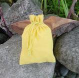 """Baumwollsäckchen """"gelb"""""""