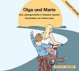 """Hörbuch: """"Olga und Marie - Eine Liebesgeschichte in Einfacher Sprache"""" von Andrea Lauer"""
