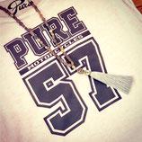 "Tee-shirt femme ""57 WHITE"""