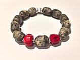 """Bracelet Stone River """"Red"""""""