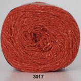 Wool Silk col.3017 oranje