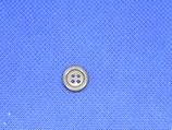 Knoop licht grijs 4 gaten 10mm