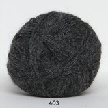Hjerte Alpaca col.403 donker grijs
