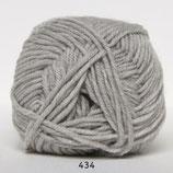 Merino Cotton col.434 licht grijs