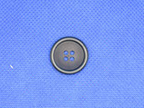 Knoop donker blauw 4-gaten