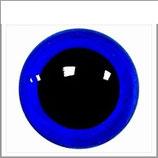 Veiligheids ogen licht blauw