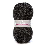 Knitty 4 glitter col.232 zwart