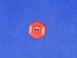 Knoop rood 6 hoek glans