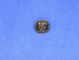 Knoop schild oud zilver kleur 15mm