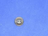 Knoop midden grijs 15mm