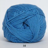 Blød Bomuld col.38 blauw