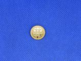 Knoop sier goud kleur 15mm