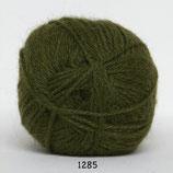 Hjerte Alpaca col.1285 jagersgroen