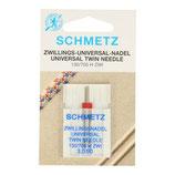 Schmetz universeel tweeling naald 3.9-90