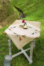 Tafelkleed Speelse katje beige