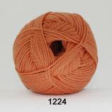 Blød Bomuld col.1224 oranje (nieuw)