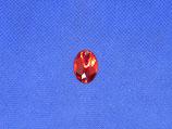 Knoop strass rood