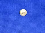 Knoop goud -parelmoer met pareltje 14mm