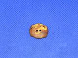 Knoop hazelnoot bruin glans