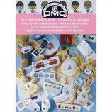 DMC borduur patronen boekje voor de baby