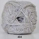 Lana Cotton col.434 licht grijs