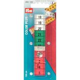 Centimeter gekleurd met drukknop 150 cm
