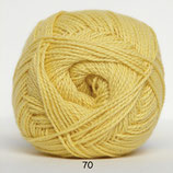 Blød Bomuld col.70 geel