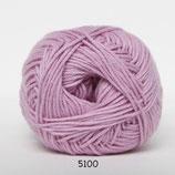 Cotton nr.8 col.5100 midden roze